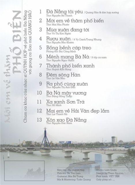 Bia 4 album Moi em ve tham pho bien - 500