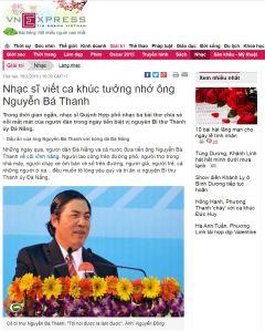 3 ca khuc tuong nho ong nguyen Ban Thanh - VNe